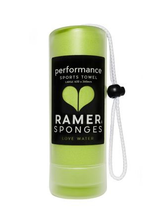 Ramer Performance Sports Towel Lime Greeen