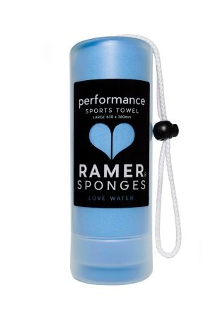 Ramer Performance Sports Towel Ocean Blue