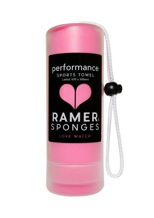 Ramer Performance Sports Towel Rose